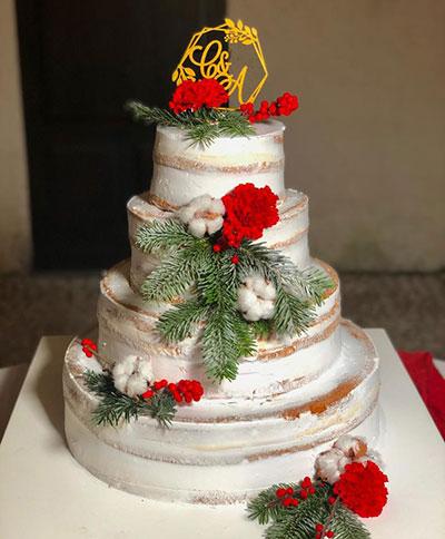 Naked Cake Casale dei Baroni
